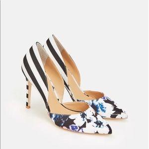 Cadienne multi floral heels size 7